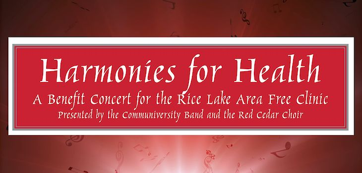 Musical Fundraiser to Benefit Rice Lake Area Free Clinic