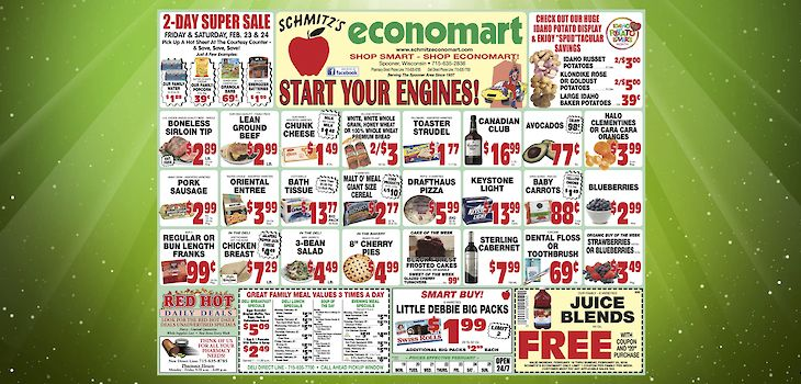 This Week's Great Deals from Economart - 2/19 to 2/25