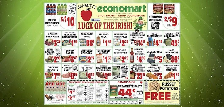 This Week's Great Deals from Economart - 3/12 to 3/18