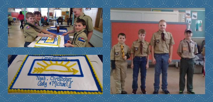 Troop 104 Welcomes New Scouts