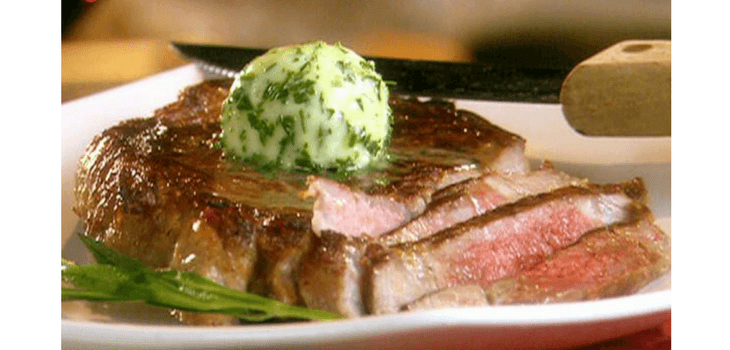 Hand Cut New York Strip with Tarragon Sauce on Special This Wed & Thur at The Roost!