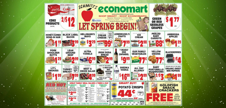 This Week's Great Deals from Economart - 3/19 to 3/25