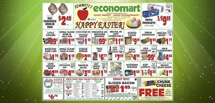 This Week's Great Deals from Economart - 3/26 to 4/1