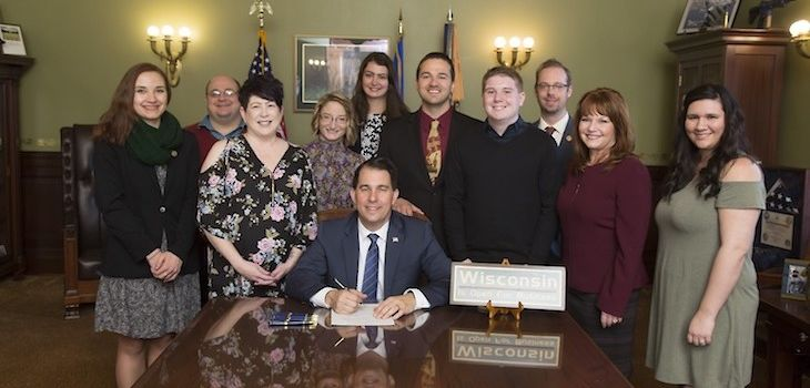 Bill Named for Rice Lake Student Signed into Law