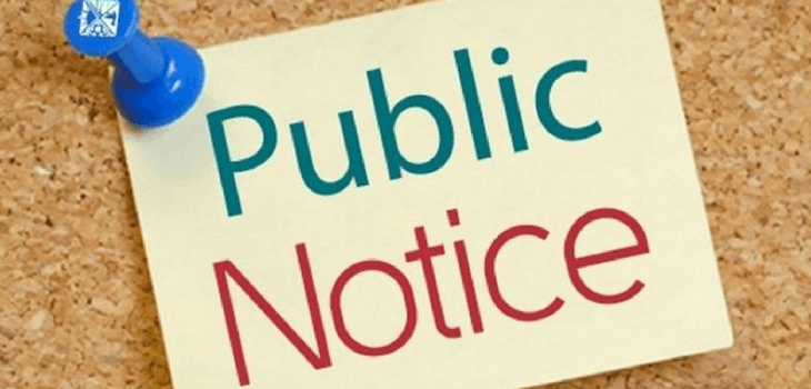 Notice of Upcoming Meetings for Sawyer County - 4/5/18