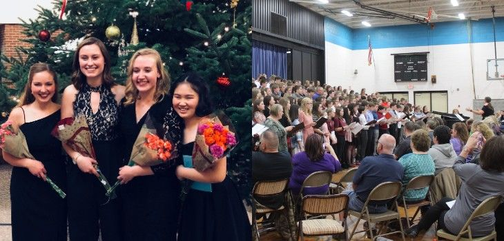 Arts Center Hosts Middle School Honors Choir & Upcoming Orchestra Workshop