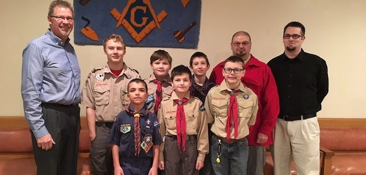 Shell Lake/Spooner Masonic Lodge: 68 Years of Continued Boy Scout Troop Support