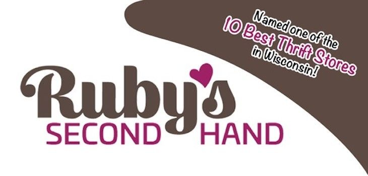 Ruby's Second Hand Named One of the 10 Best Thrift Stores in Wisconsin!