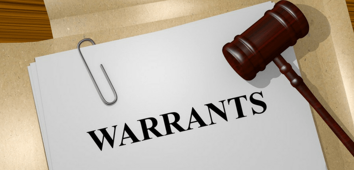 Weekly Warrant Status Report - 4/18/18
