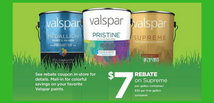 Spring Rebates Are On! Get Up To $80 Back When You Buy Valspar Paint