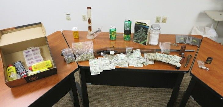 Search Warrant in the Village of Siren Leads to Two Arrests