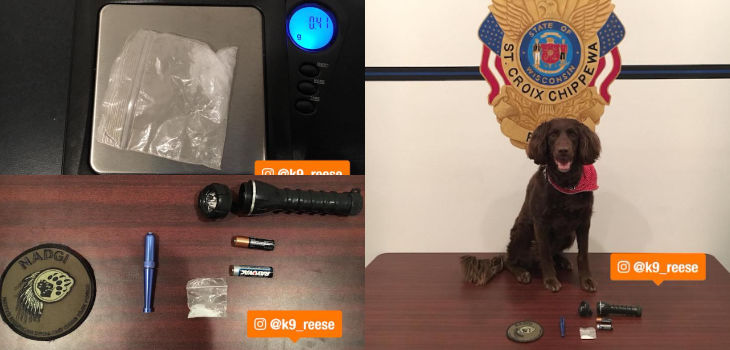 Traffic Stop Leads to Discovery of Meth Hidden Inside Flashlight