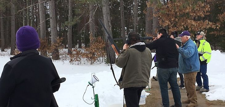 Students Love New High School Sport of Trap Shooting