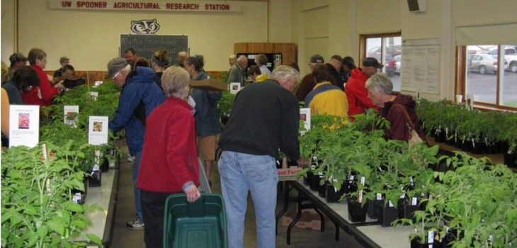17th Annual Plant Sale Coming Saturday, May 19th at Spooner Ag Research Station