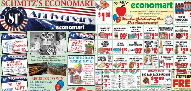 This Week's Great Deals from Economart - 5/7 to 5/13