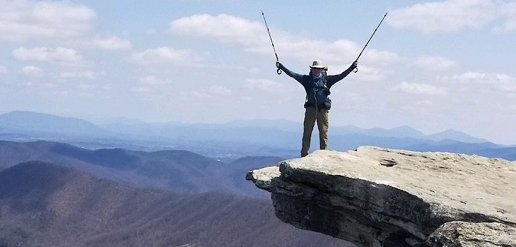 Grantsburg's Dr. Vitale 'Living His Dream' on the Appalachian Trail