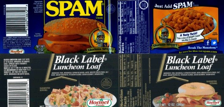 Hormel Recalls 228,000 Pounds of Canned Pork, Chicken Products for Possible Metal Contamination