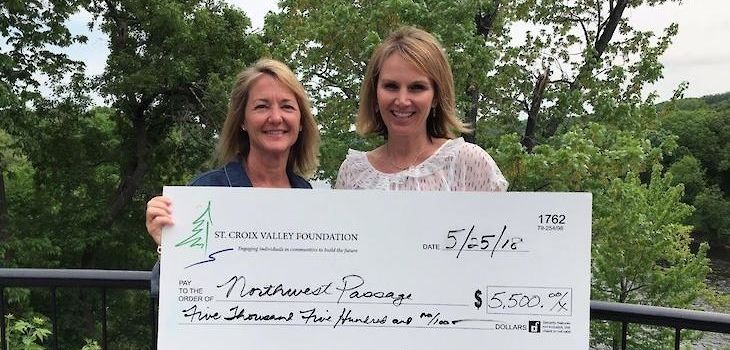Northwest Passage Receives Grants from St. Croix Valley Foundation
