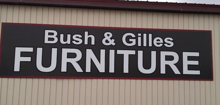 Bush and Gilles Furniture Store to Open in Cedar Mall