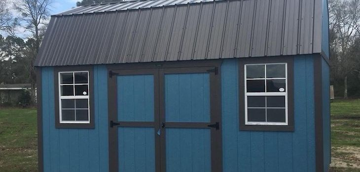 New Slate Blue Lofted Barn Now Available!