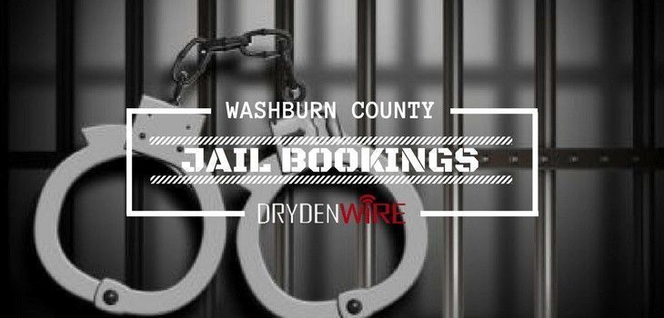 Washburn County Jail Bookings from 5/28 to 6/3
