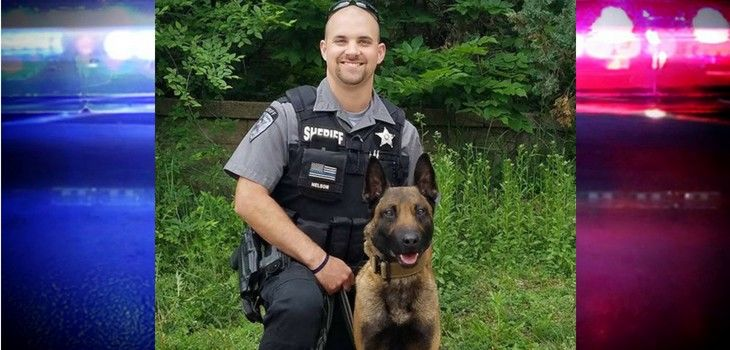 Sawyer County Deputy Nelson & K9 Oscar Announced as 'Detector Case of the Quarter'