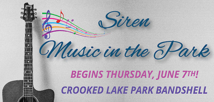 Siren Kicks Off Their 10th Season of Music in the Park!