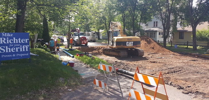 Work Begins on Spooner's Elm Street