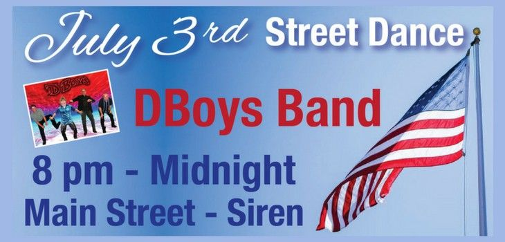 Siren Welcomes 'DBoys Band' For Their Annual July 3rd Street Dance!