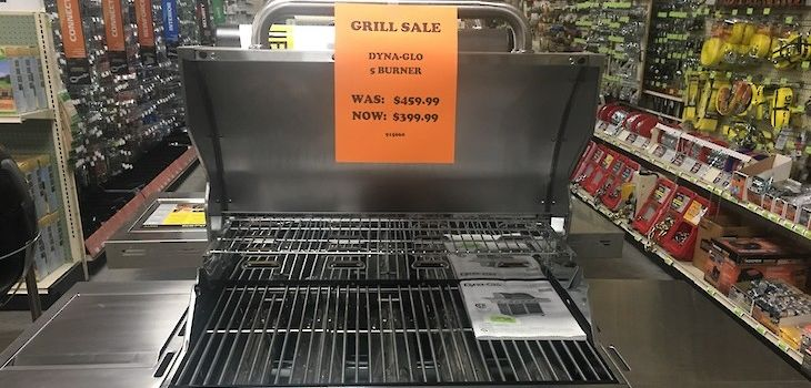Northwoods Hardware Hank is Having a Grill Sale!