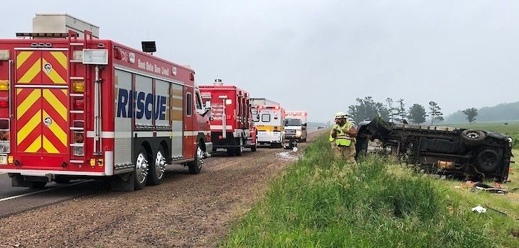 Multiple People Ejected in Two-Vehicle Crash in Barron County