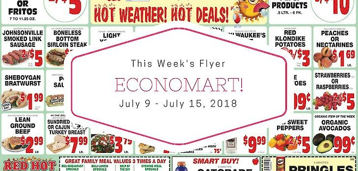 'Hot Weather! Hot Deals!' This Week at Schmitz's Economart!