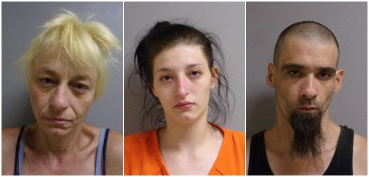 Three Arrested After Search Warrant Results in Discovery of Meth, THC