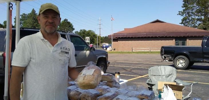 ICYMI: Local Man Bakes 1,500 Loaves of Artisan Bread Every Week