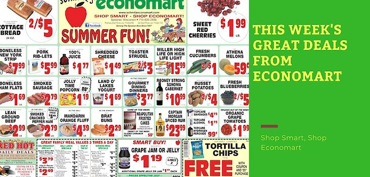 'Summer Fun' - This Week's Great Deals from Economart!