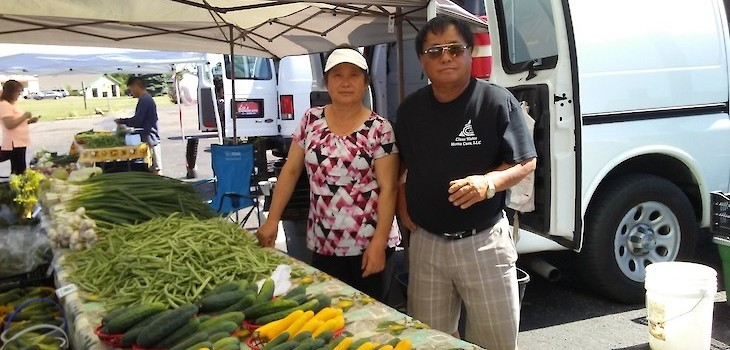 From A Refuge Camp to Supplying Fresh Produce for the Masses