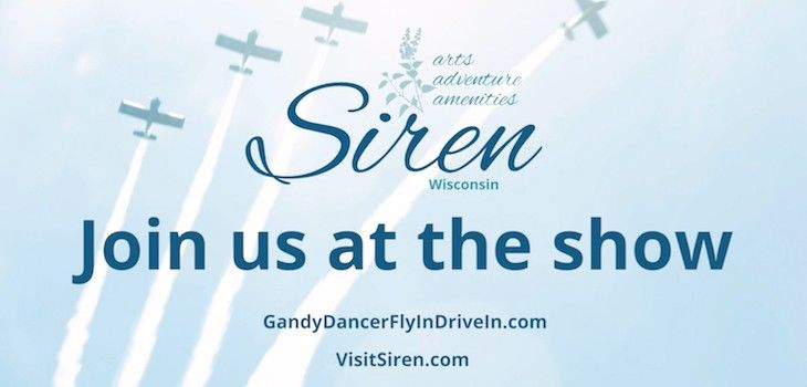 Join us at the 2018 Gandy Dancer Fly-in/Drive-in!