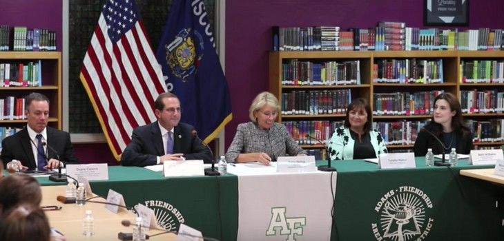 Federal Commission on School Safety's Second Field Visit Explores Behavioral Health Integration in Schools