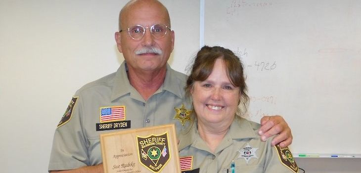 Washburn County Dispatcher / Jailer Retires