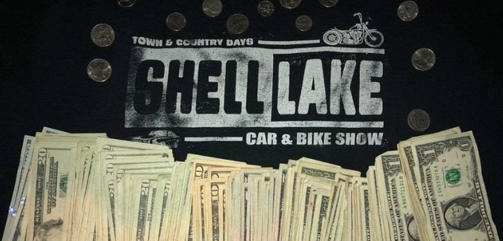 Car Show Raises Over $2,500 for the Shell Lake Fire Department