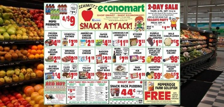 'Snack Attack' - Check out this Week's Great Deals from Economart!