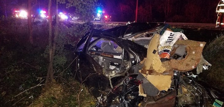 Authorities: Alcohol 'Appears to be Factor' in Single-Vehicle Crash in Barron County