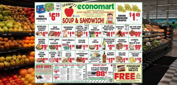 'Soup & Sandwich' - This Week's Great Deals from Economart!
