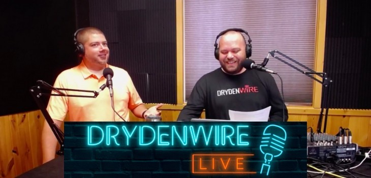 (WATCH) This Week's Guest on DrydenWire Live: JZ, the ED of the WCEDC!