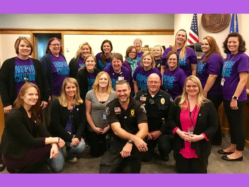 Embrace Welcomes October as National Domestic Violence Awareness Month (DVAM)