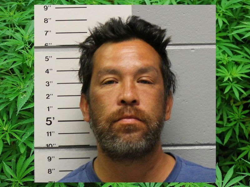 Felony Charges Filed After Traffic Stop for Loud Exhaust Leads to Discovery of 505g of Pot