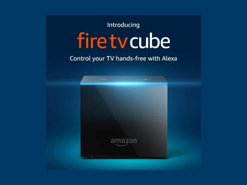 Amazon Introduces Fire TV Cube