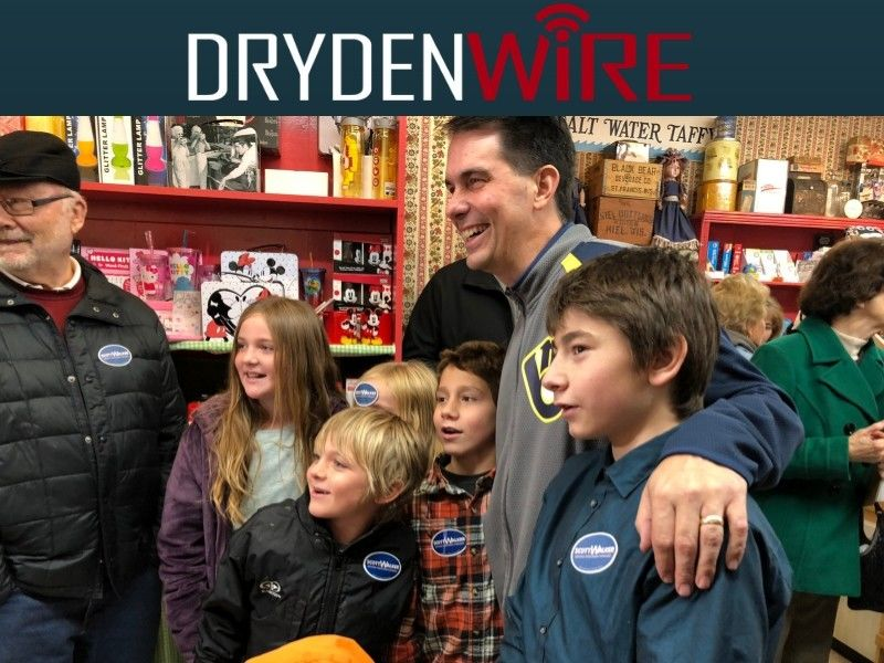 Gov. Walker Chats with DrydenWire.com While Touring NW Wisconsin