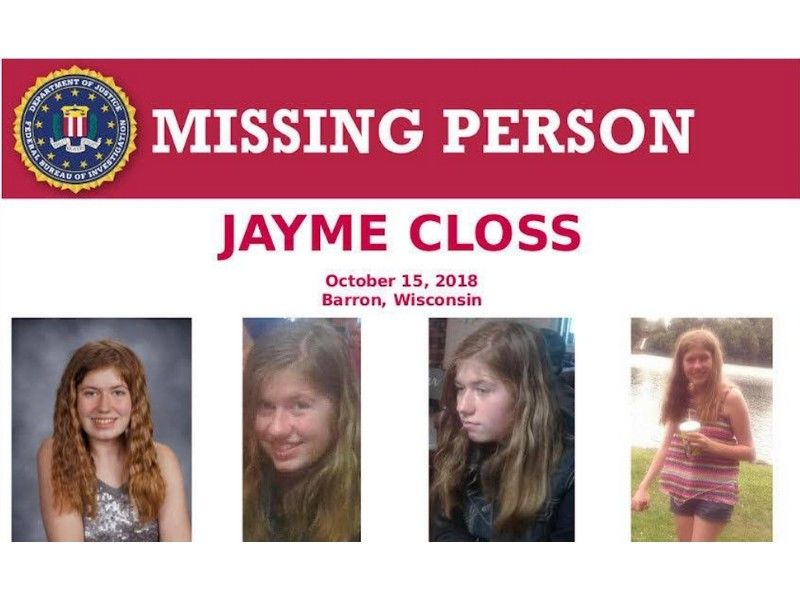 Jayme Closs Case: 1,740 Tips Received; Sheriff Encourages Community To Continue To Call In