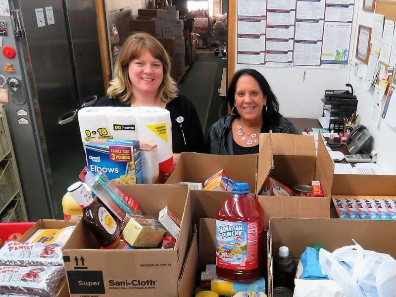 Spooner Health Donates Over 300 Pounds of Food to ICAA and Washburn County Food Pantry